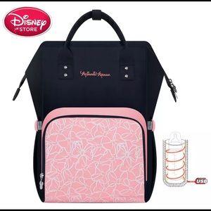 Minnie travel mommy storage diaper backpack bag